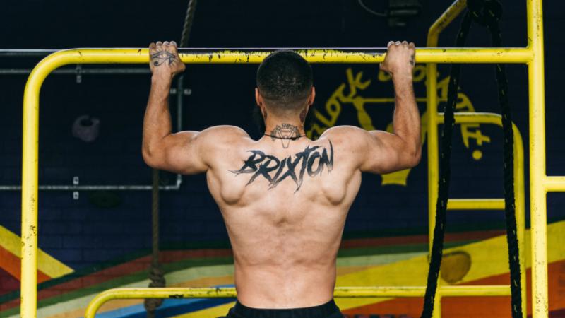 Brixton Street Gym - On the bars