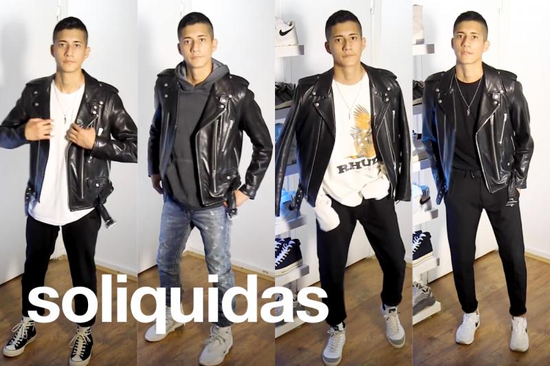 Soliquidas - Styling a Leather Jacket, Fashion