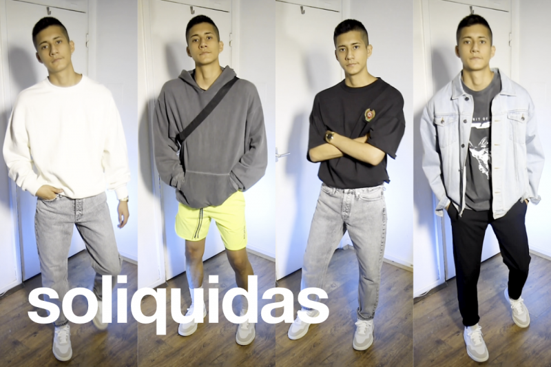 Soliquidas - Fashion, Styling White Sneakers